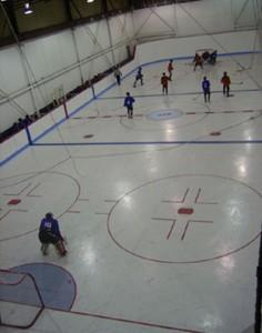 Gymnase de hockey cosom à Montréal