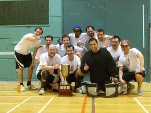 Équipe championne de ligue de hockey cosom