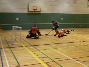 Joueurs hockey balle Montréal