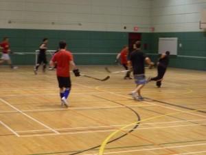 Inscription hockey cosom à Montréal