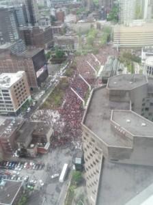 Complexe Henri-Bourassa à Montréal pour le hockey cosom