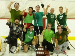 Ligue de hockey cosom amicale à Montréal