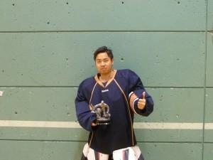 Gardien individuel hockey balle, hockey cosom
