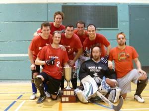 Ligue de hockey balle Montréal, amicale, cosom
