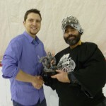 Trophée meilleur gardien ligue hockey cosom Montréal