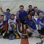 Champions ligue de hockey cosom amicale à Montréal