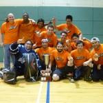 Équipe championne de ligue de hockey balle