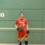Joueur inscrit ligue hockey cosom
