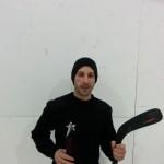 Meilleur défenseur ligue de hockey cosom à Montréal