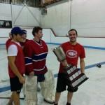Capitaine d'une ligue amicale de hockey cosom repêchage