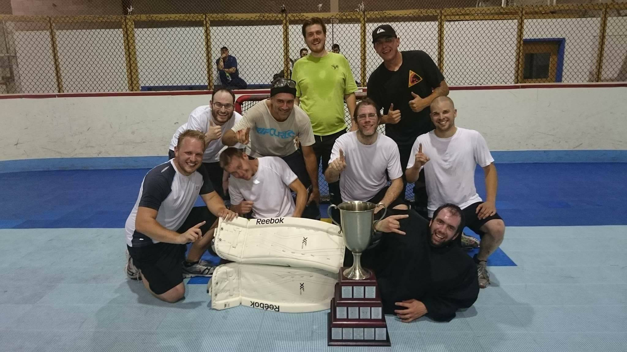 Champions_hockey_cosom_hockey_balle_printemps_2017