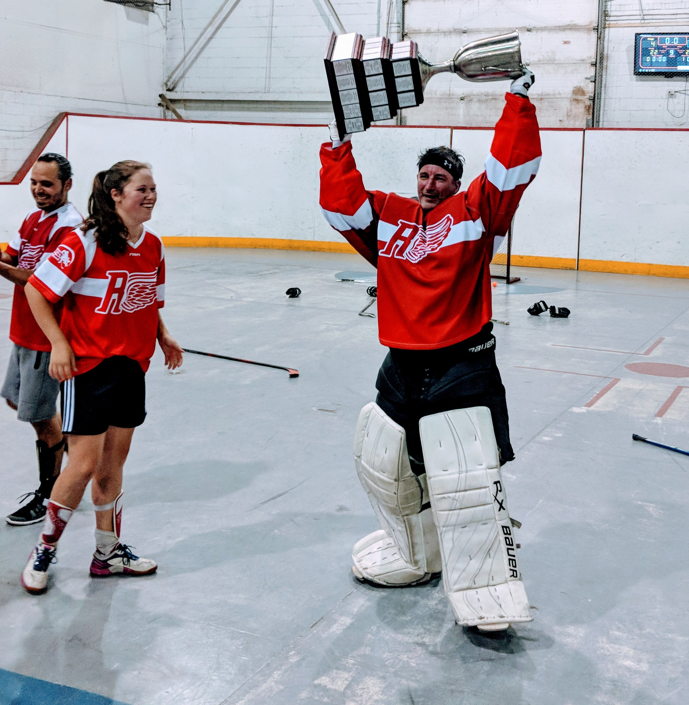 Gagnant Coupe hockey cosom amical Montréal repêchage