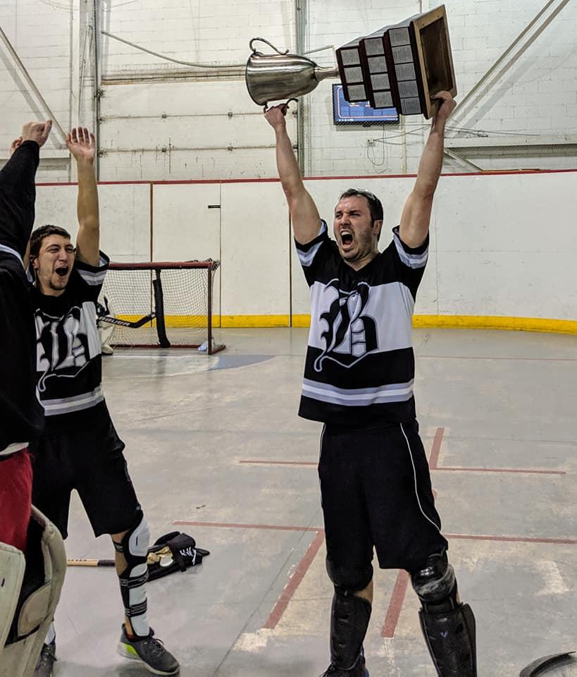 Gagnant Coupe CHOIX hockey cosom amical Montréal repêchage