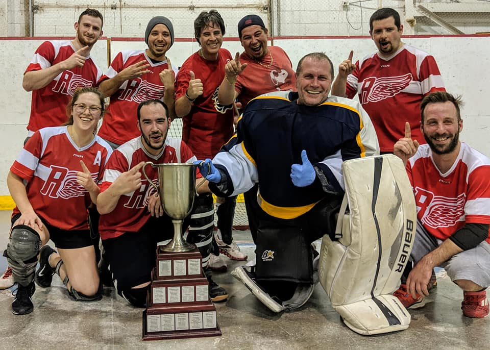 Gagnants Coupe CHOIX hockey cosom Montreal ligue amicale (6)