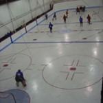 Gymnase pour jouer au hockey balle